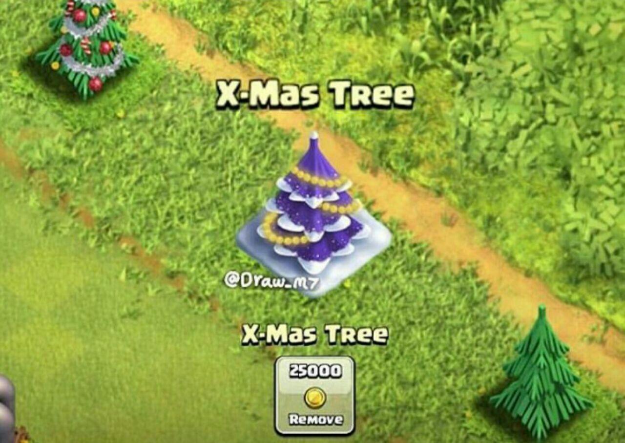 ایده جالب درخت کریسمس در آپدیت جدید